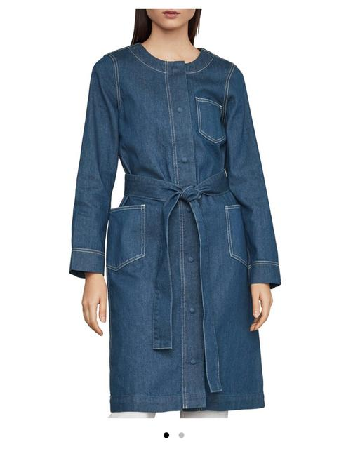 Item - Blue Long Jacket Size 10 (M)