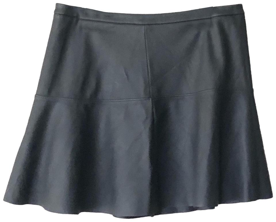 search for authentic price reduced great discount for Express Black Faux Leather Skater Skirt Size 4 (S, 27)