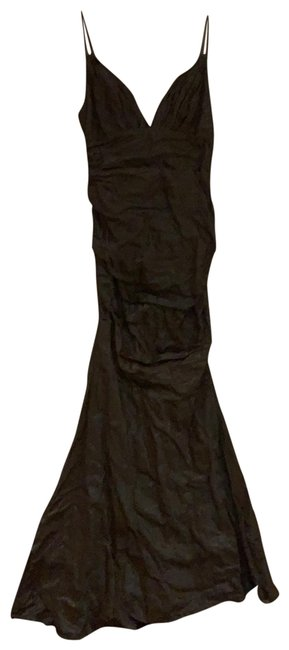 Item - Bronze Gown Long Formal Dress Size 4 (S)