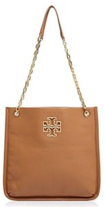 Tory Burch Britten Crossbody Brown Purse Shoulder Bag