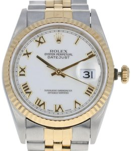 Rolex Rolex Oyster Datejust Men's Watch Stainless & 18k Gold Automatic E5345