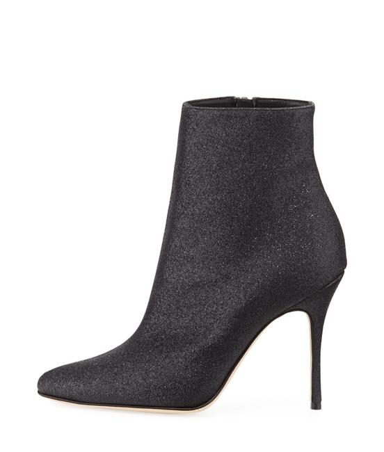 Item - Black Insopo 90mm Shimmer Boots/Booties Size EU 40 (Approx. US 10) Regular (M, B)