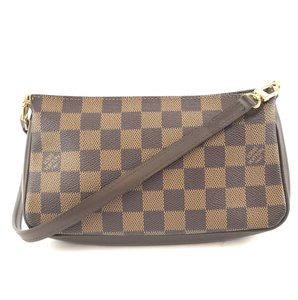Louis Vuitton Pochette Damier Navona Clutch Cross Body Bag