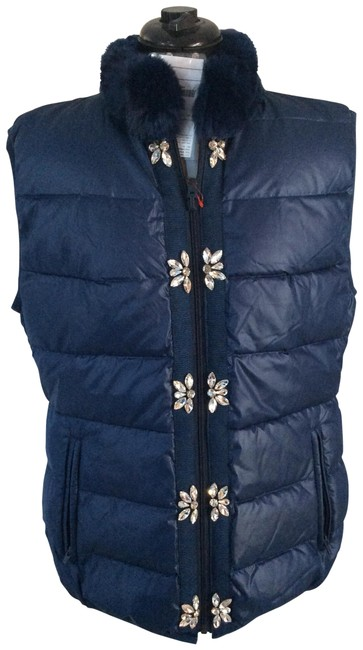 Item - Blue The Glam Vest Size 12 (L)