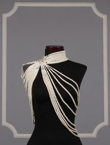 Ines Di Santo Ivory and Silver Liberty Necklace