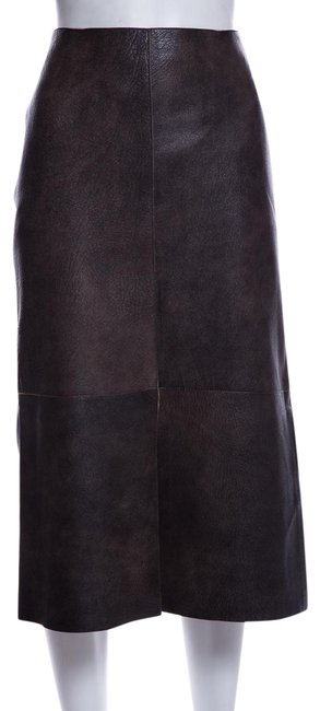 Item - Brown Leather Skirt Size 10 (M, 31)