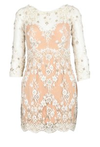 Zuhair Murad Beaded Mini Beaded Cocktail Cocktail Mini Dress