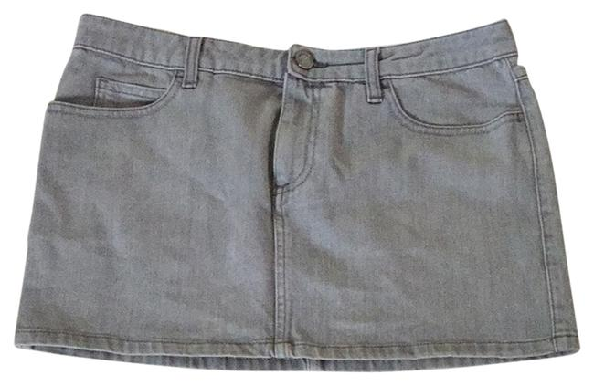 Item - Grey Skirt Size 8 (M, 29, 30)