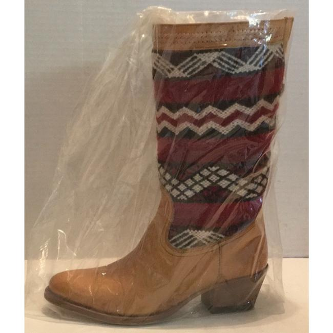 Tan Red New In Box Alcazar Boots/Booties Size US 7 Regular (M, B) Tan Red New In Box Alcazar Boots/Booties Size US 7 Regular (M, B) Image 2