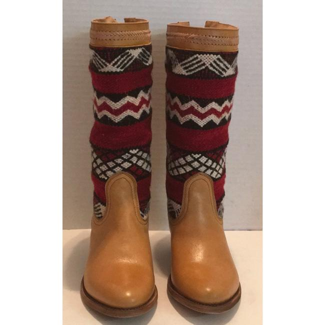 Tan Red New In Box Alcazar Boots/Booties Size US 7 Regular (M, B) Tan Red New In Box Alcazar Boots/Booties Size US 7 Regular (M, B) Image 3