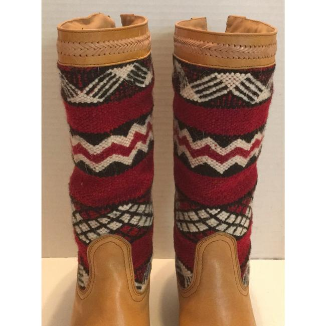 Tan Red New In Box Alcazar Boots/Booties Size US 7 Regular (M, B) Tan Red New In Box Alcazar Boots/Booties Size US 7 Regular (M, B) Image 4