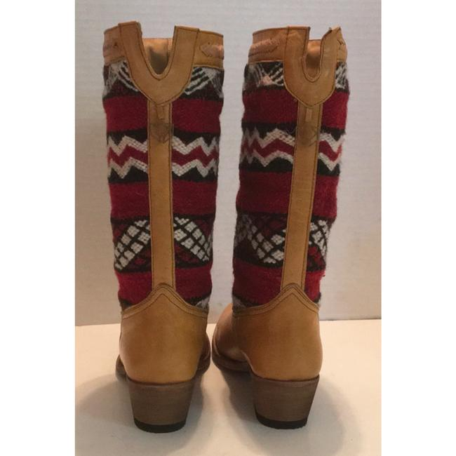 Tan Red New In Box Alcazar Boots/Booties Size US 7 Regular (M, B) Tan Red New In Box Alcazar Boots/Booties Size US 7 Regular (M, B) Image 6