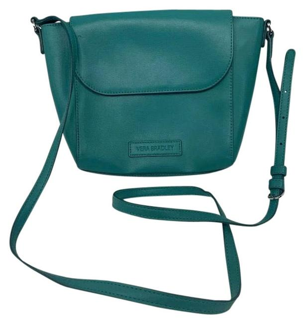 Item - Small Purse Teal Vegan Leather Cross Body Bag