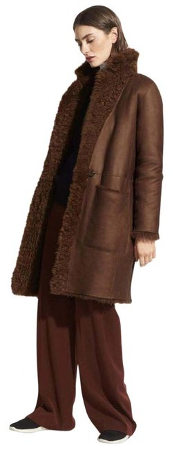 Item - Amber Brown Reversible Shearling Coat Size 4 (S)