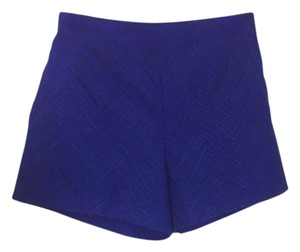 Skies Are Blue Dress Shorts blue