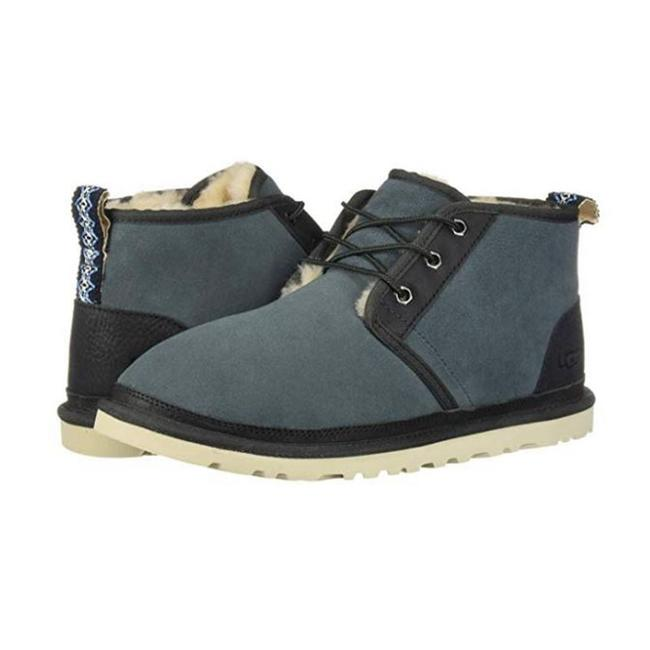 Item - Blue Neumel 1095351 M/Che Two-toned Water-resistant Boots Shoes