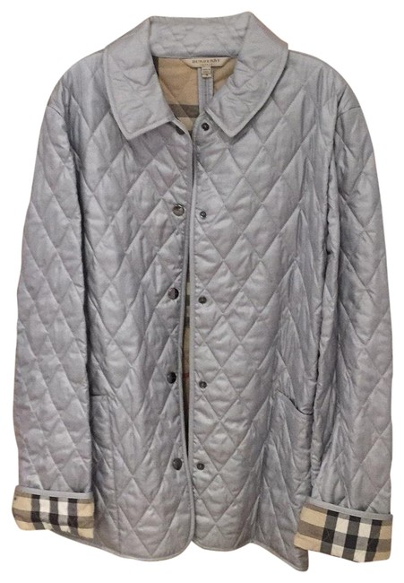 Item - Silver Quilt Jacket Size 6 (S)