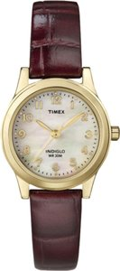 Timex Timex Female Sport Watch T21693 Mother Of Pearle Analog