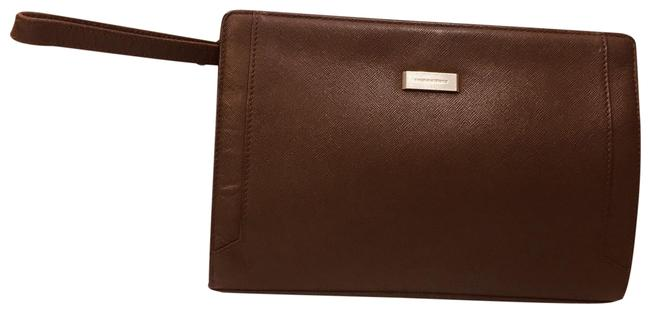 Item - Vintage Handbag Brown Leather Clutch