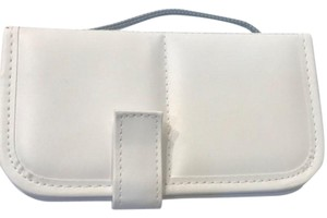 None Leather Cosmetic Brush Case