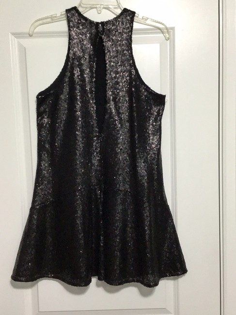 Free People Black Sequin Short Night Out Dress Size 2 (XS) Free People Black Sequin Short Night Out Dress Size 2 (XS) Image 3