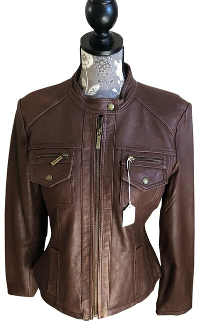 Item - Brown 115847 Leather Jacket Size 14 (L)