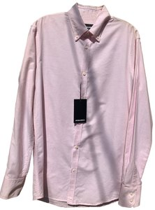 DSquared Button Down Shirt pink