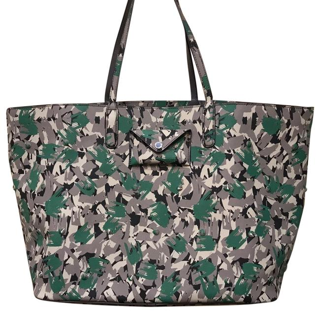 Item - Metrópoli Travel Dark Moss Multi Polyvinyl Tote