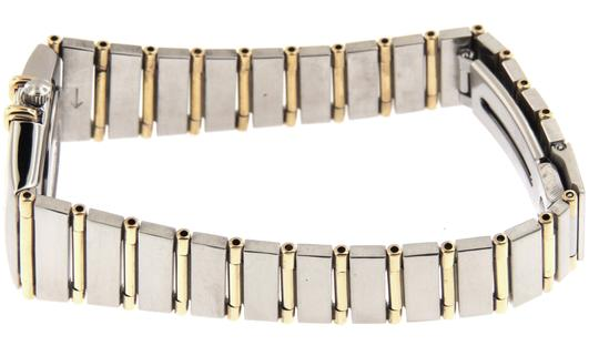 Omega Ladies Omega Constellation Diamonds Full 18KYG Bar/SS 23mm Watch Image 1