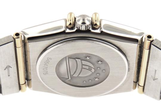 Omega Ladies Omega Constellation Diamonds Full 18KYG Bar/SS 23mm Watch Image 3