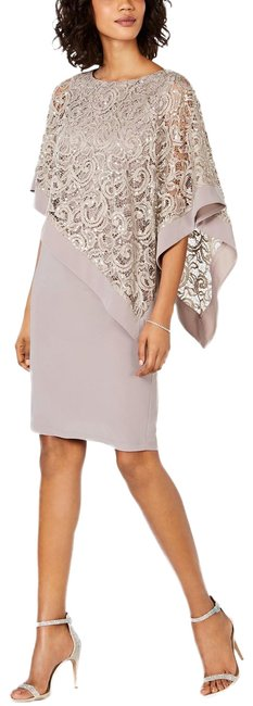 Preload https://img-static.tradesy.com/item/26130845/r-and-m-richards-champagne-sequined-lace-poncho-mid-length-cocktail-dress-size-16-xl-plus-0x-0-4-650-650.jpg