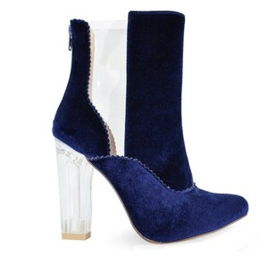 Chase & Chloe blue Boots