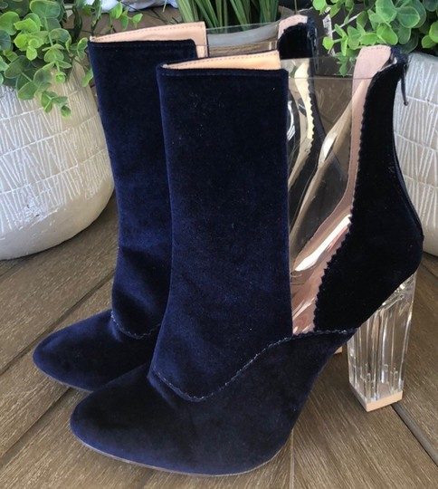 Chase & Chloe blue Boots Image 3