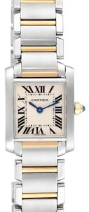 Cartier Cartier Tank Francaise Small Steel Yellow Gold Ladies Watch W51007Q4