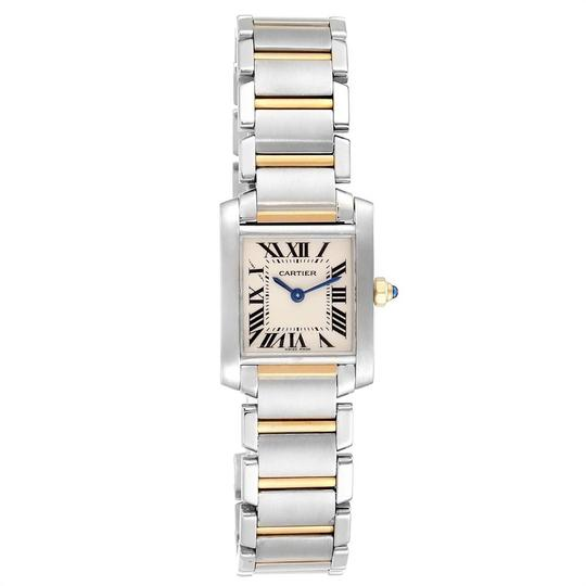 Cartier Cartier Tank Francaise Small Steel Yellow Gold Ladies Watch W51007Q4 Image 1