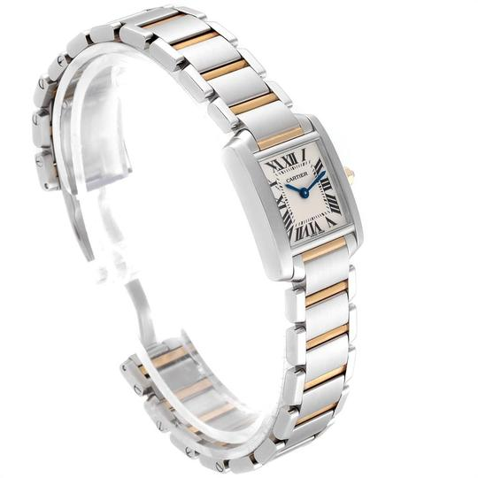 Cartier Cartier Tank Francaise Small Steel Yellow Gold Ladies Watch W51007Q4 Image 2