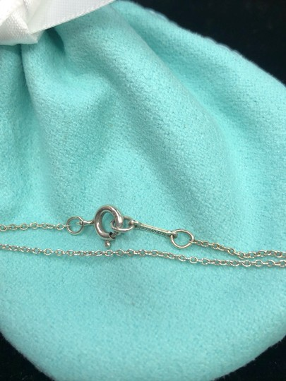 Tiffany & Co. TC019 Silver 925 Elsa Peretti tear drop pendant charm necklace Image 2