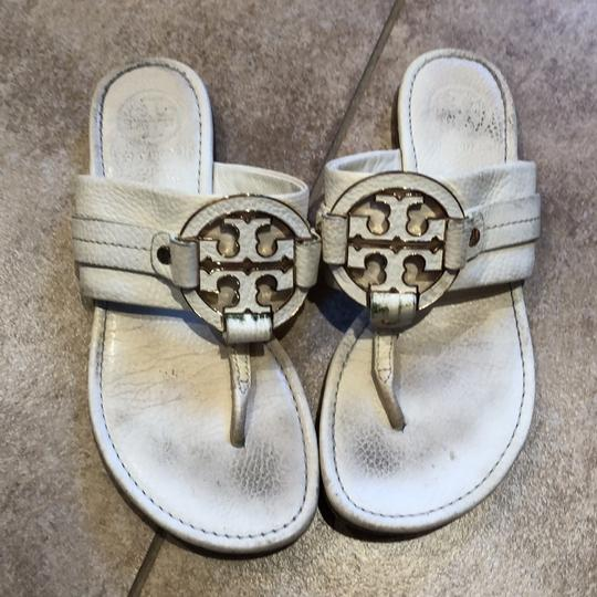 Tory Burch White Sandals Image 2