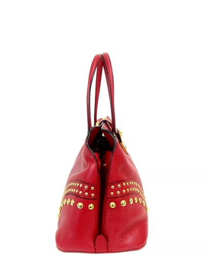 Prada Satchel in red Image 1