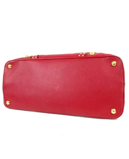 Prada Satchel in red Image 4
