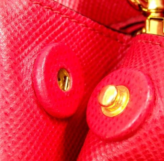 Prada Satchel in red Image 6