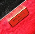 Prada Satchel in red Image 8