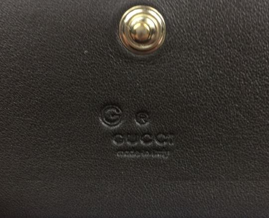 Gucci Gucci MicroGuccissima Brown Leather Card Case Wallet Bifold 544030 Image 6