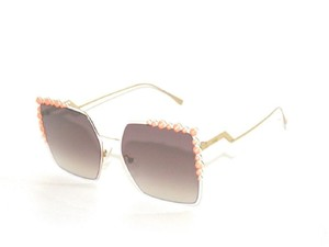 Fendi FENDI SUNGLASSES FF0259/S 0259 35J NQ2 PINK-WHITE SUNGLASSES