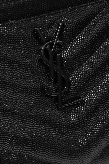 Saint Laurent Ysl Pouch Leather Clutch Image 9