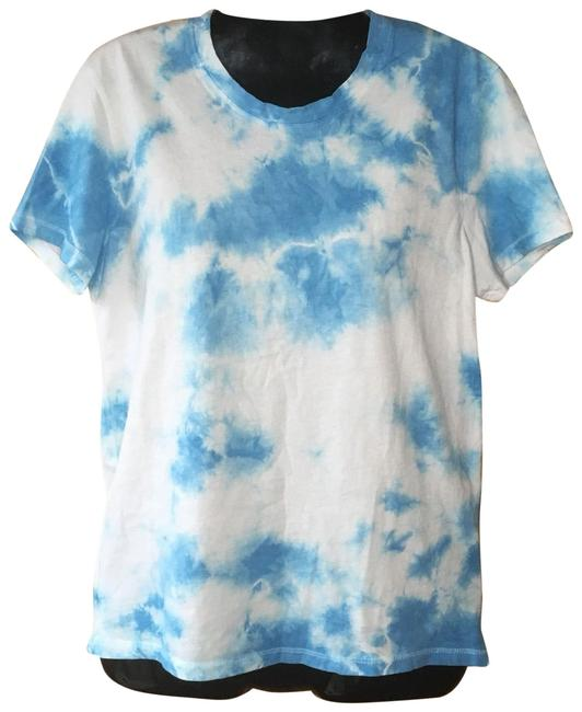 Preload https://img-static.tradesy.com/item/26130967/blue-washed-tie-dye-t-shirt-tee-shirt-size-4-s-0-3-650-650.jpg