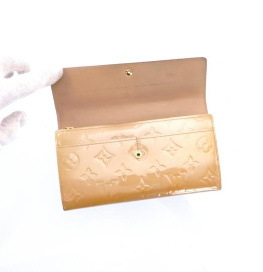 Louis Vuitton Sarah Vernis Monogram Patent Leather Long Clutch Wallet Image 4