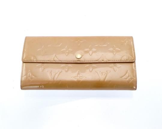 Louis Vuitton Sarah Vernis Monogram Patent Leather Long Clutch Wallet Image 9