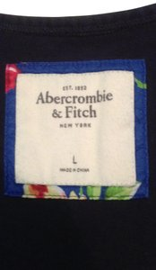 Abercrombie & Fitch short dress navy/floral on Tradesy