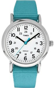 Timex Timex Female Weekender Watch T2N836 Blue Analog
